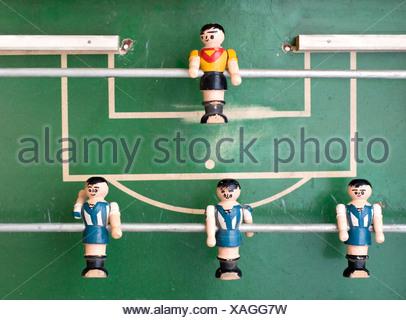 kicker,foosball - Stock Photo