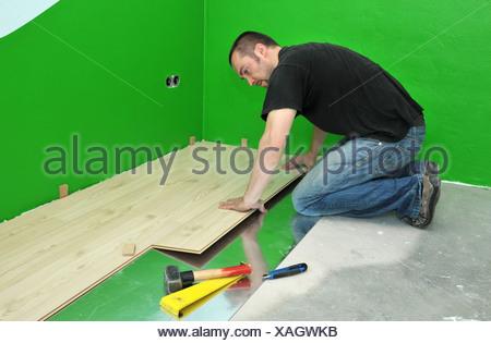 laminate lay - Stock Photo