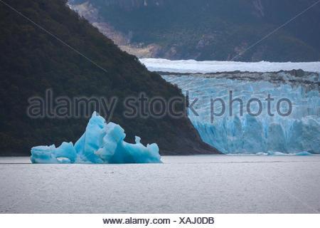 Spegazzini,glacier,Argentina,Patagonia - Stock Photo