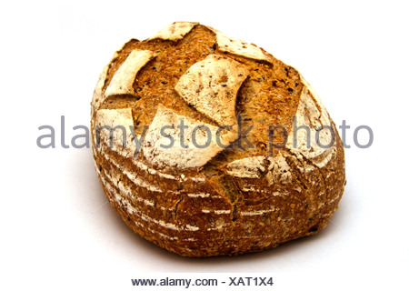 Rustic Multigrain Loaf - Stock Photo