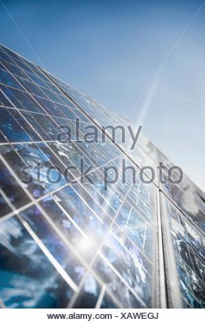Solar panels, Bavaria, Germany - Stock Photo
