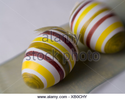 Close-up of Easter eggs - Stock Photo