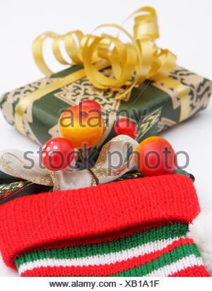 Christmas Stocking Filler - Stock Photo