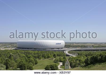 Deutschland, Sueddeutschland, Bayern, Oberbayern, Muenchen, Landeshauptstadt, Stadtansicht, Sehenswuerdigkeit, Sehenswuerdigkeit - Stock Photo