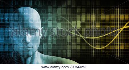 Futuristic Science - Stock Photo