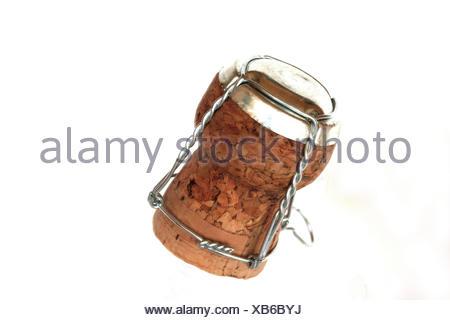 champagne corks - Stock Photo