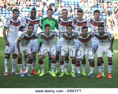DFB U21 Team - Stock Photo