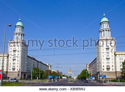 The Frankfurter Tor in Berlin