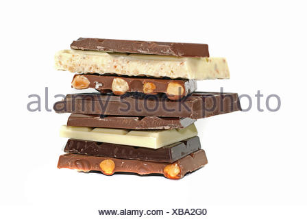 nuts stack stacked - Stock Photo