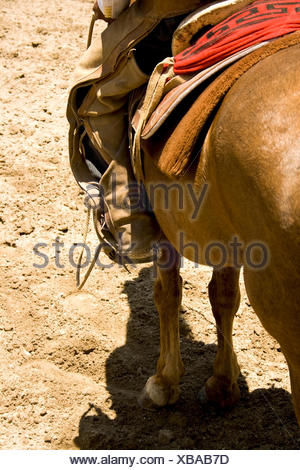 mexican cowboy - Stock Photo