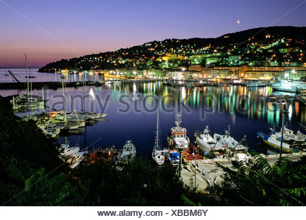 Harbour, Porto Santo Stefano, Monte Argentario, Maremma, Grosseto Province, Tuscany, Italy, Europe - Stock Photo