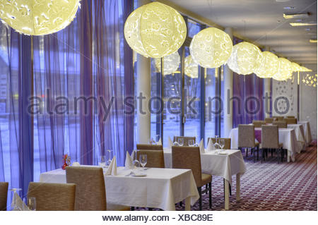 business hotel restaurant dinner design interior cafe lustre hotel restaurant indoor table chair elegance contemporary plates