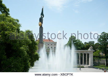 Wien, Hochstrahlbrunnen - Stock Photo