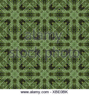 Modern Geometric Ornate Seamless Pattern - Stock Photo