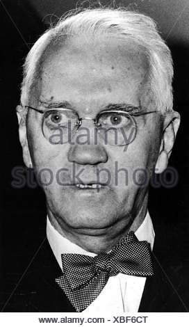Fleming , Sir Alexander, 5.8.1881 - 11.3.1955, Scottish scientist (bacteriologist), portrait, 1950s, Additional-Rights-Clearances-NA - Stock Photo
