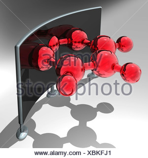 Chemical research, conceptual image - Stock Photo
