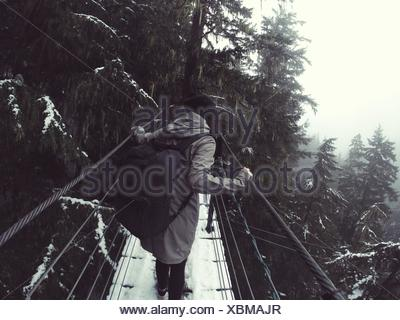 Don't look down - Stock Photo