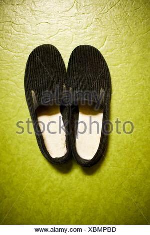 Pair of old fashioned sleepers - Stock Photo