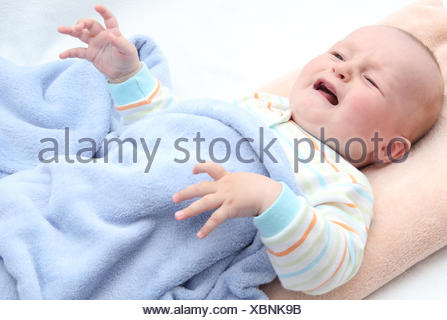 born bed mouth - Stock Photo
