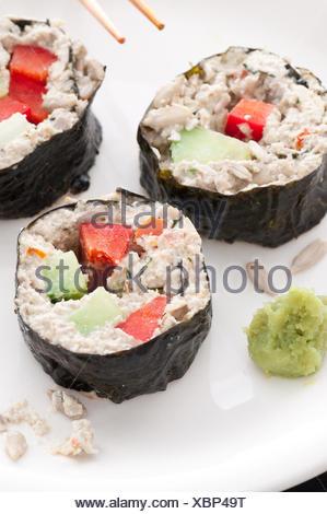 Zippy Tuna Rolls - Stock Photo