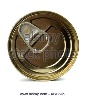 Top of  can - Stock Photo
