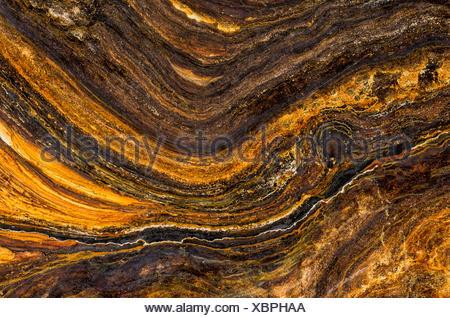 Makroaufnahme einer verrosteten Metalloberfläche - Stock Photo