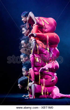 'Afrika! Afrika!' show in Berlin, Germany - Stock Photo