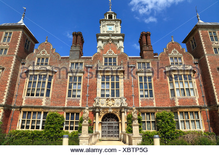 Blickling Hall, Norfolk, England UK, 17th century Jacobean mansion, English stately home homes - Stock Photo
