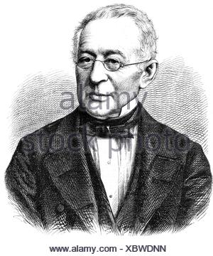 Gorchakov, Alexander Mikhailovich, 15.7.1798 - 11.3.1883, Russian diplomat, portrait, wood engraving, 19th century, Additional-Rights-Clearances-NA - Stock Photo