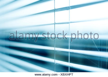 Conceptual photo blinds jalousie - Stock Photo