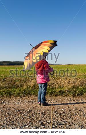autumn walk II - Stock Photo