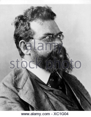 Boltzmann, Ludwig, 20.2.1844 - 5.9.1906, Austrian physicist, portrait, 19th century, Additional-Rights-Clearances-NA - Stock Photo