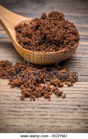 Dark muscovado sugar - Stock Photo