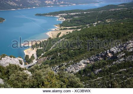 Lac de Sainte Croix / Provence - Stock Photo
