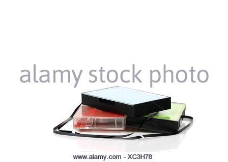 cassette 9 - Stock Photo