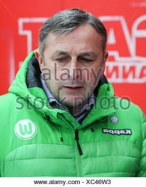 Klaus Allofs (VfL Wolfsburg) - Stock Photo