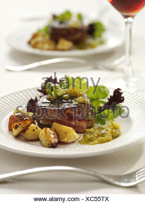 Fillet Beef - Stock Photo