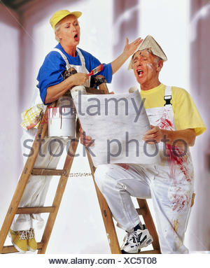 Do it yourself senior couple renovation wallpaper colour stock do it yourself senior couple renovation wallpaper colour conductor solutioingenieria Gallery