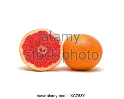 orange food aliment health nourish vitamins vitamines vitamine eco plant blank - Stock Photo