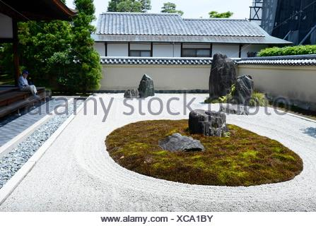 Ryogen-in Temple, Daitoku-ji, Kyoto,Japan. - Stock Photo