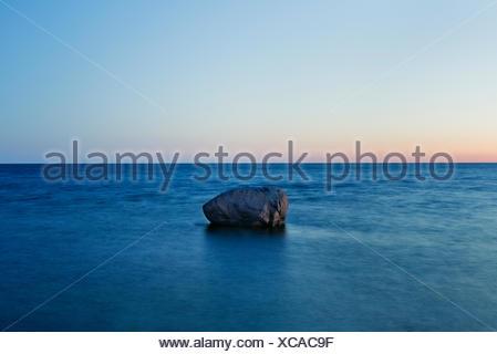 Seascape, Estonia, Saaremaa, Neeme - Stock Photo
