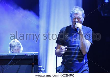 Ian Gillan, Deep Purple, English rock band, Open Air Festival, Muehldorf am Inn, Bavaria, Germany - Stock Photo