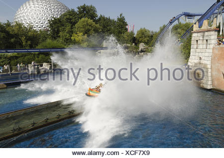 Water Roller Coaster - Stock Photo