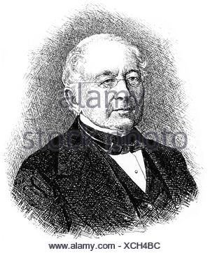 Gorchakov, Alexander Mikhailovich, 15.7.1798 - 11.3.1883, Russian diplomat and politician, Foreign Minister 1856 - 1882, Chancellor 1863 - 1882, portrait, wood engraving, 19th century, Additional-Rights-Clearances-NA - Stock Photo