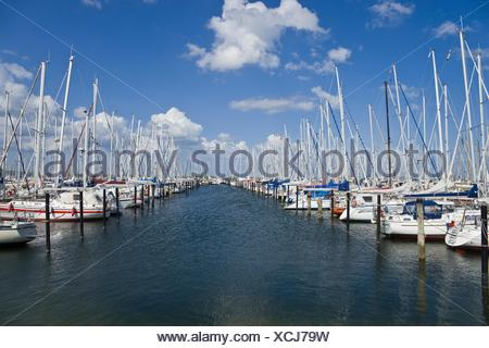 Marina, Heiligenhafen - Stock Photo