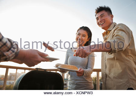 laughing twit - Stock Photo