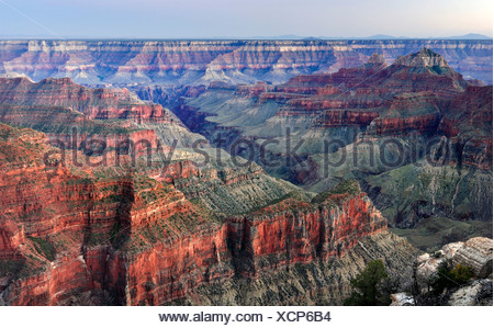 Bright Angel Point, Grand Canyon Lodge, North Rim, Grand Canyon National Park, Arizona, USA, North America - Stock Photo