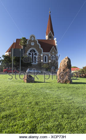 The christus church in Windhoek - Stock Photo