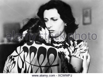 movie, 'Volcano' (Vulcano), ITA 1950, director: William Dieterle, scene with: Anna Magnani, Geraldine Brooks, Third-Party-Permissions-Neccessary - Stock Photo