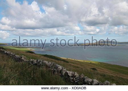 island of rousay, orkney islands, scotland, united kingdom - Stock Photo